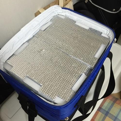 ソフトクーラー(保冷バッグ)の改良