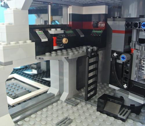 Death Star Control Room Set Doorway