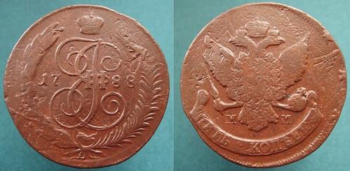 1788 MM 5 Kopecks Overstruck 3