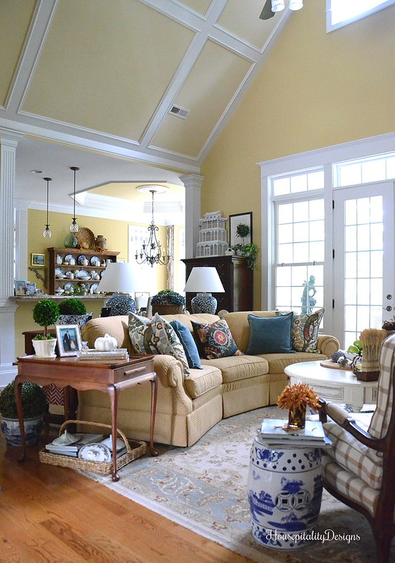 Great Room - Fall - Fall Tour - Housepitality Designs