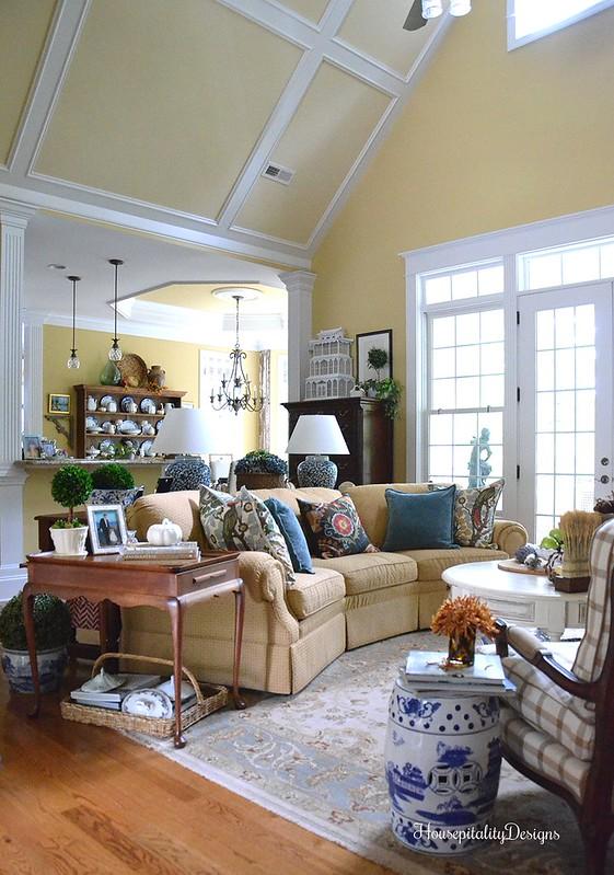 Great Room - Fall - Fall Tour - Housepitality Designs