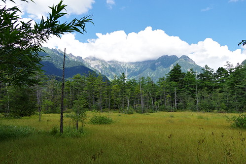 Hotaka Mountain Range Dake-sawa valley Kamikochi 2016 summer 33
