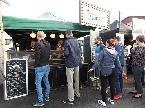 J.Kinski Stand (auf dem Street Food Festival in Osnabrück)
