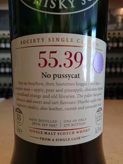 SMWS 55.39 - No pussycat