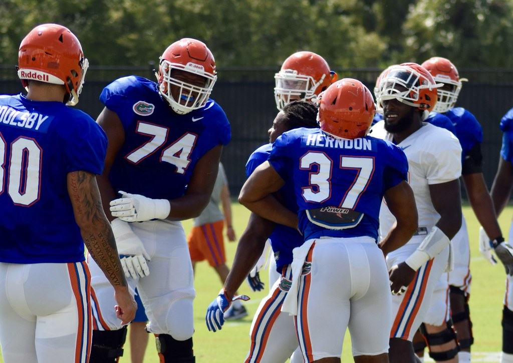 Florida Gators practice 9-6-16