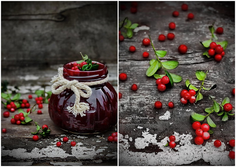 ...jam mountain cranberries collage
