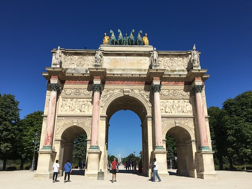Arc de Triomphe du Carrousel. Paris, France