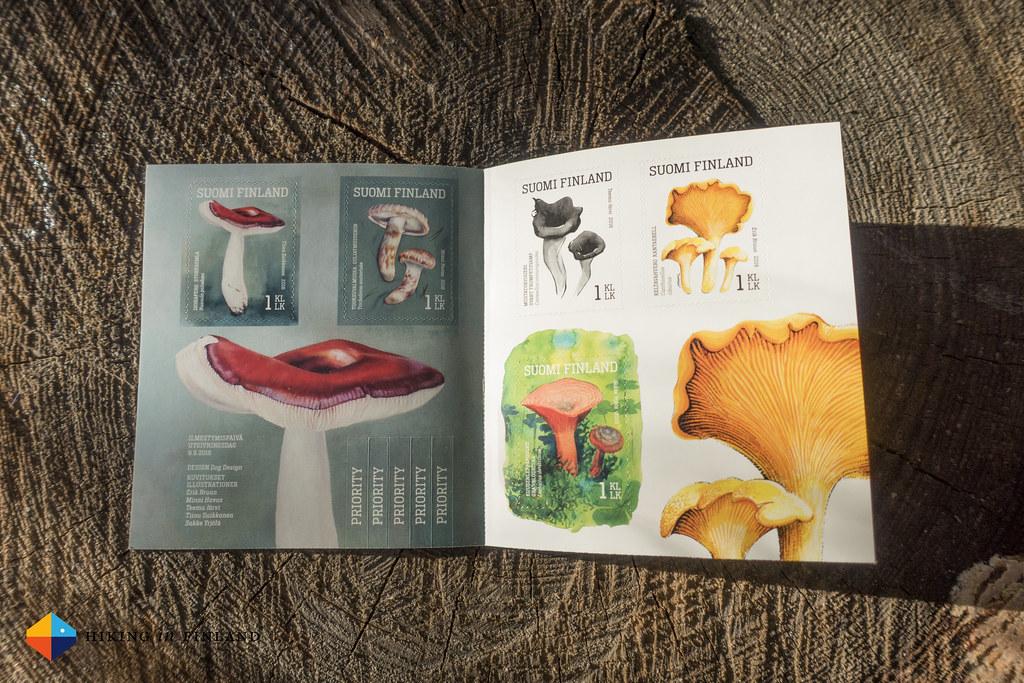 Mushroom Stamps inside
