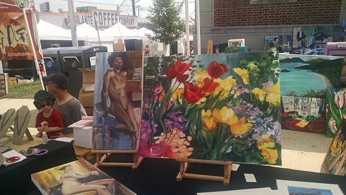 Photo from the 2016 Hyattsville Arts & Ales Festival.