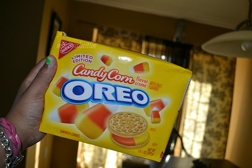 Candy Corn Oreos | by rissahhbabyy
