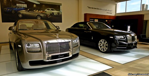 Rolls-Royce Ghost & Dawn - Santiago, Chile
