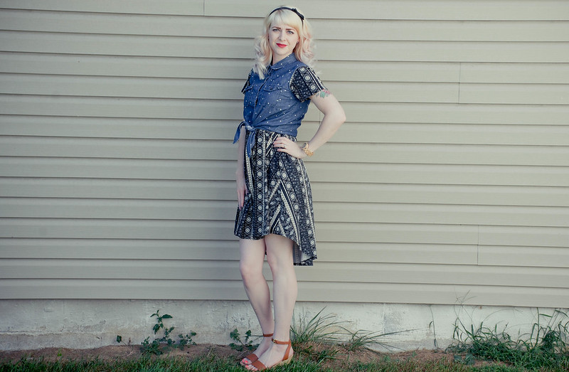 What I Wore: The Carly LuLaRoe Dress