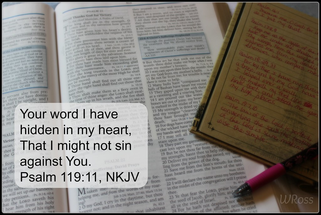 Psalm 119 11