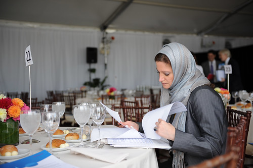 Maha Akeel of the Organization of Islamic Cooperation attends the High-level Lunch Event on Strengthening Women's Access to Justice, co-hosted by Finland, South Africa and UN Women | by UN Women Gallery