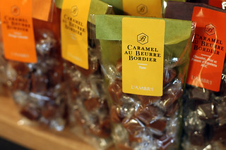 salted butter caramels (Bordier) | by David Lebovitz