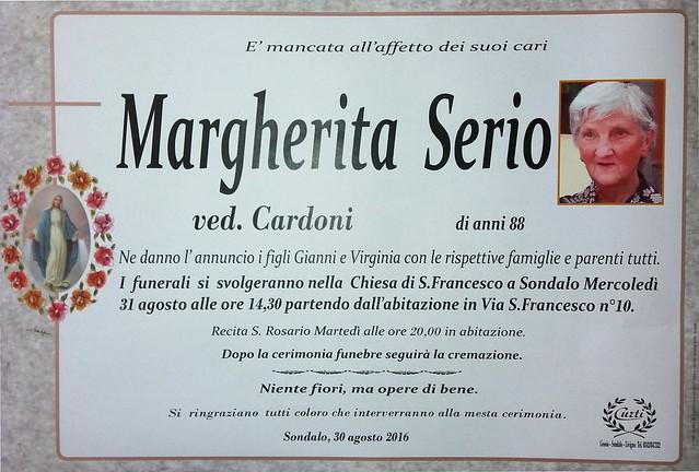 Serio Margherita