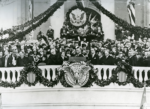 Franklin D. Roosevelt's First Inauguration | by USCapitol
