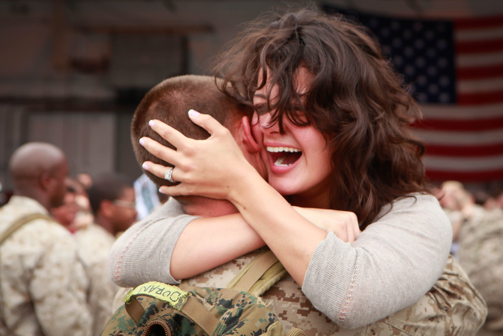 VMAQ-2 Marines return from Afghanistan [Image 1 of 3]