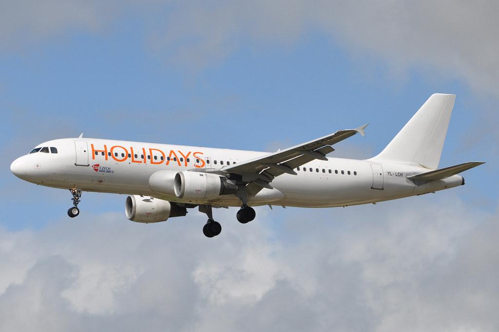 CZECH HOLIDAYS YL-LCH A320