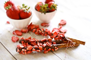 Strawberry chocolate covered pretzels 002 | by Hungry Housewife