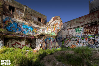 graffiti @ silos in fitzroy HDR | by pixelwhip