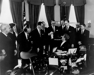President Signing the 1962 Drug Amendments | by The U.S. Food and Drug Administration