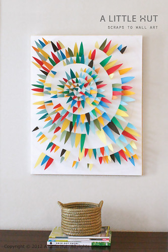 scraps to wall art 6 | by Patricia Zapata
