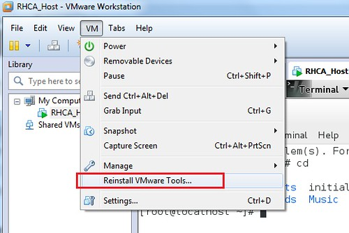 VMWare Workstation 10 0 4 install guest tool on RHEL7 – Xiong Hui