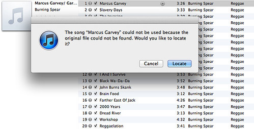 iTunes library error | by Daniel Bowen