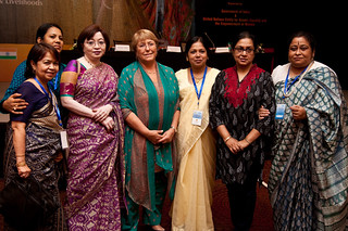 UN Women Executive Director Michelle Bachelet spoke at the National Leadership Summit in Jaipur, India on 4 October 2012 | by UN Women Gallery