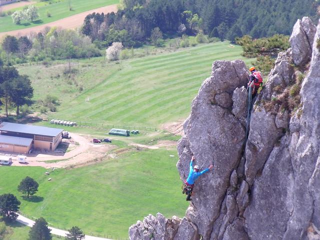 Hohe Wand Draschpfeiler 220 m (6-)