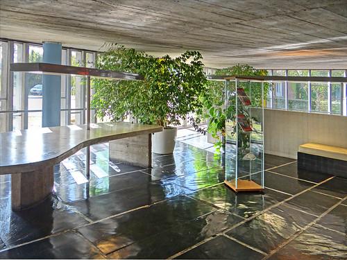 La maison du br sil cit internationale universitaire de paris flickr p - Maison du bresil paris ...
