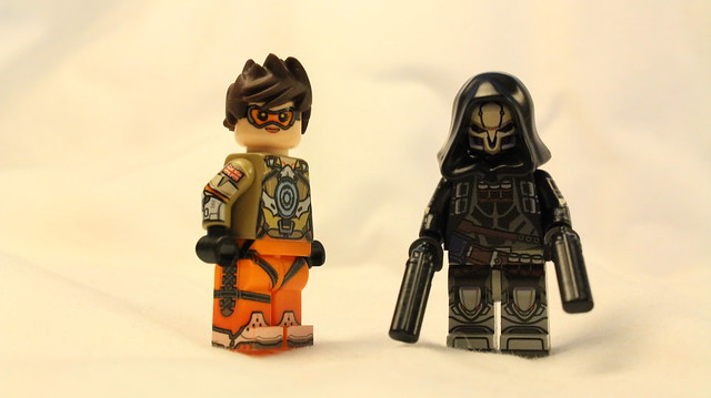 BrickUltra Customs: Tracer & Reaper Minifigures