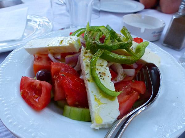 salade grecque anafiotica