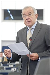 The rapporteur (Credits: European Parliament)