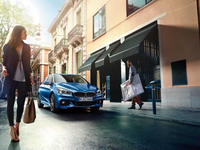 [新聞照片二]BMW 2系列Active Tourer搭載M款空力套件