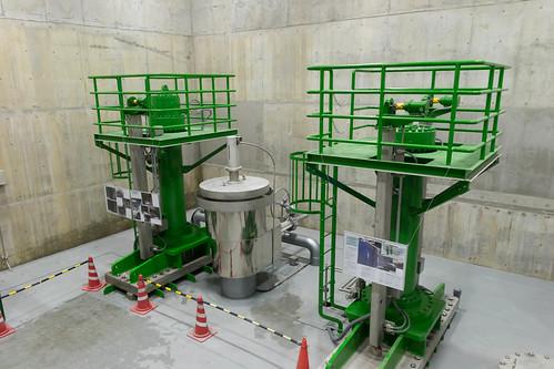 湯西川ダム 放水ゲート