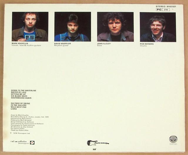 "DIRE STRAITS SELF-TITLED FRANCE BLACK VERTIGO 12"" LP VINYL"