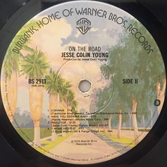 JESSE COLIN YOUNG:ON THE ROAD(LABEL SIDE-B)