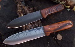 Set of Kephart Knives in Ironwood