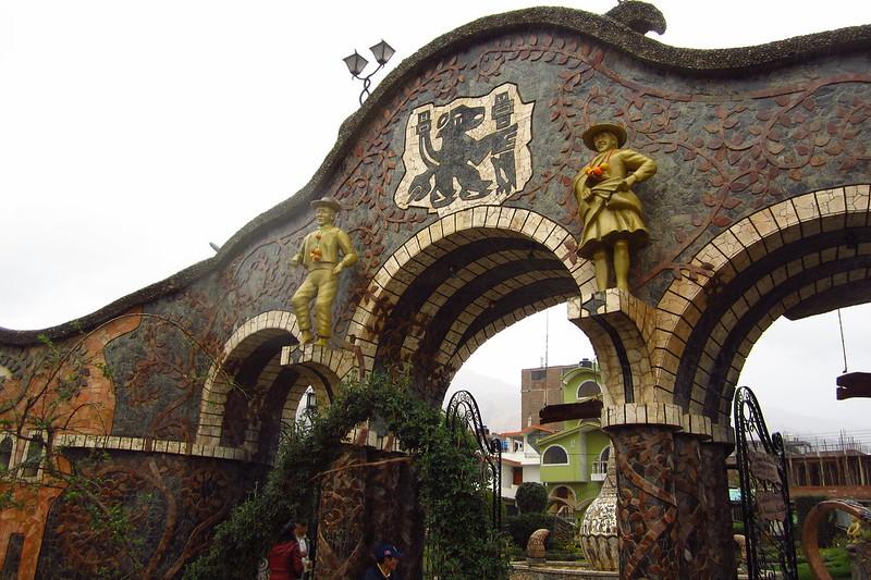 Parque de la Identidad Wanka, Huancayo, Junín, Peru