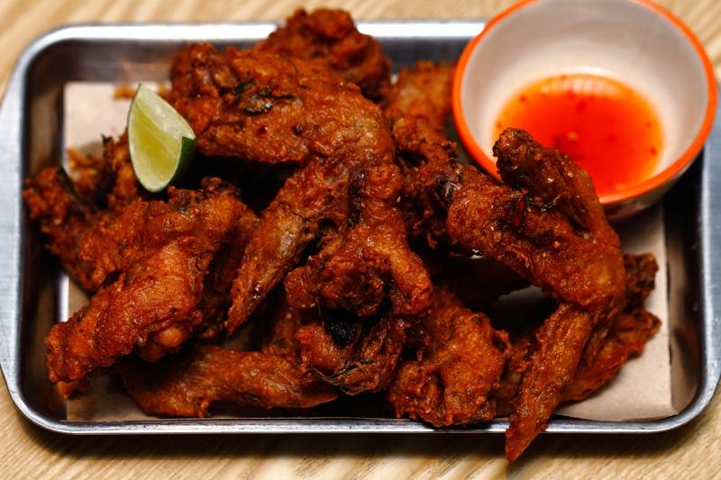 Streat Thai Fried Chicken Wings