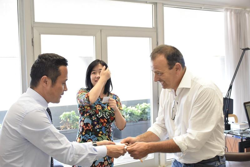 Firma di un Memorandum of Partnership fra Città della Scienza e GDOS