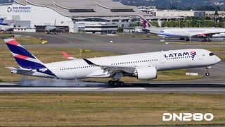 LATAM A350-941 msn 045