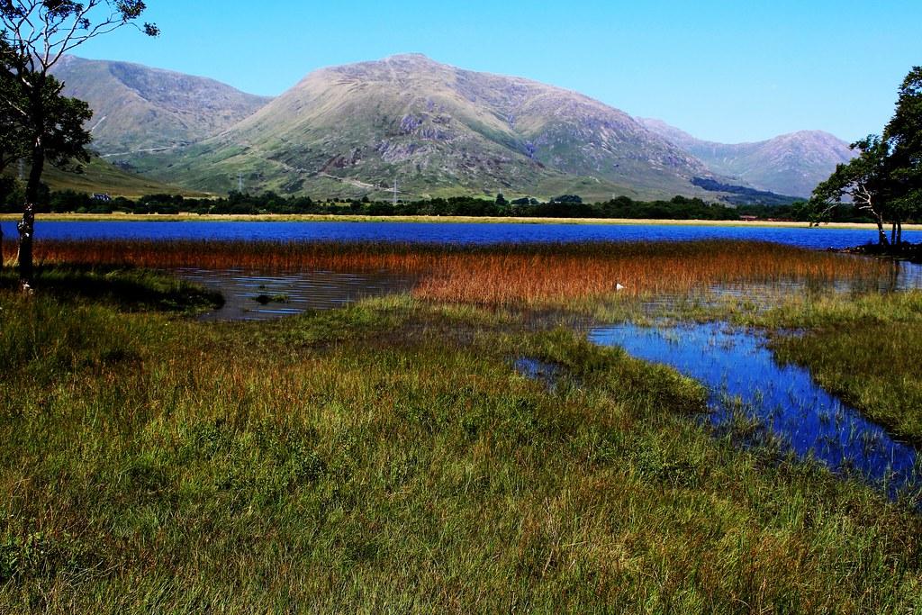 Loch Awe scenery, Argyll, Scotland.