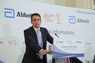 Desayuno Informativo con el Director del Servicio Catalán de Salud, Don David Elvira y Martínez.
