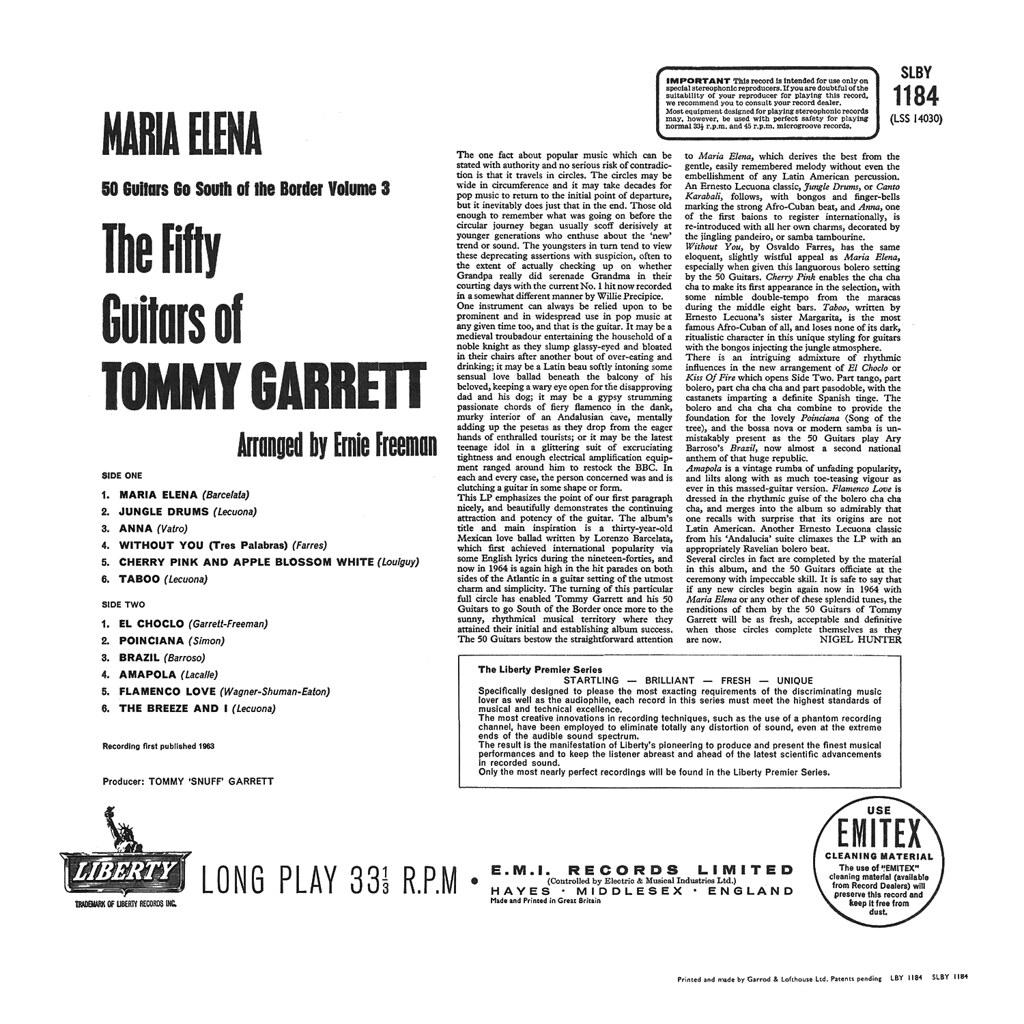 Tommy Garrett - Maria Elena