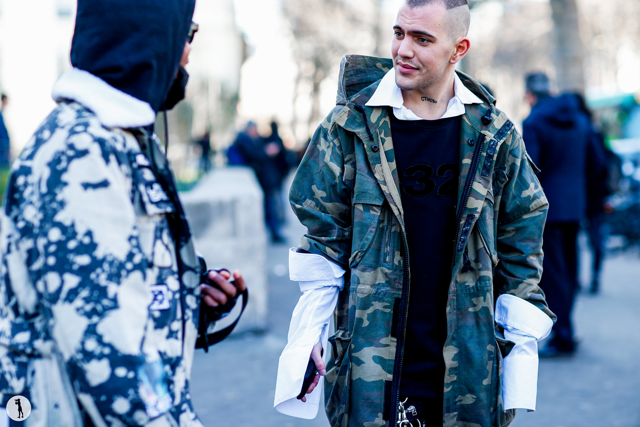 Street style at Paris Fashion Week Menswear-8