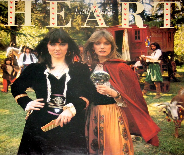 "HEART Little Queen / Ann Wilson Nancy Wilson Portrait PRT 82075  12"" vinyl LP"