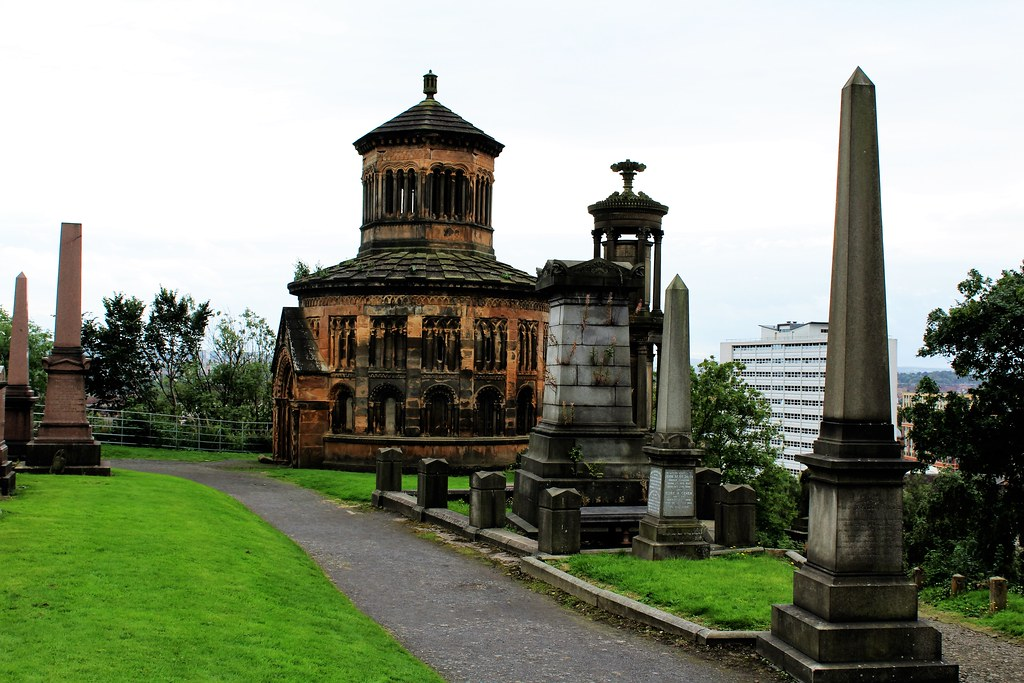 Monteath Mausoleum, Glasgow Necropolis, Scotland